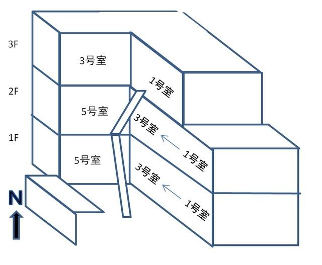 部屋配置図